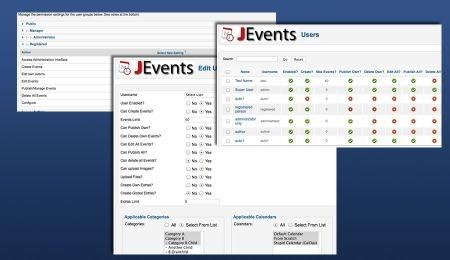 Calendario Per Sito Web.Jevents Gestione Di Eventi Con Calendario In Joomla Siti