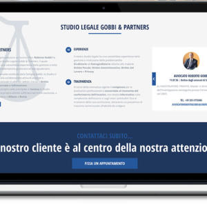 Gobbi & Partners - sito web Studio Legale