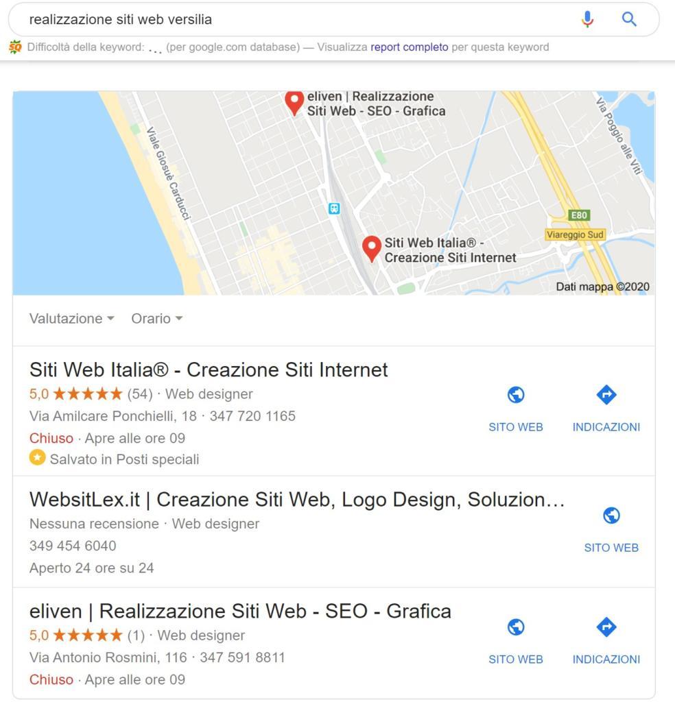Guida per principianti posizionamento Google Map Seo Local