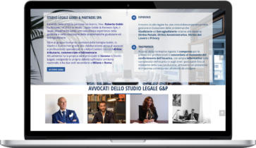 Realizzazione Sito Web per Studio Legale