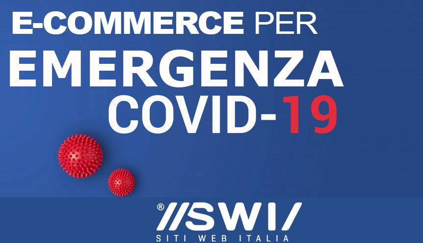 E-commerce Emergenza CoVid19 - Supportiamo le Aziende che hanno convertito la loro produzione