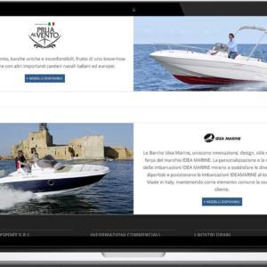 Template Sito web Responsive Nautica