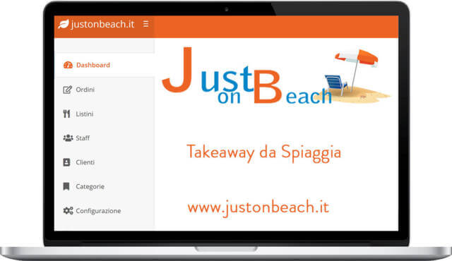 Just On Beach - il 1° take way da Spiaggia
