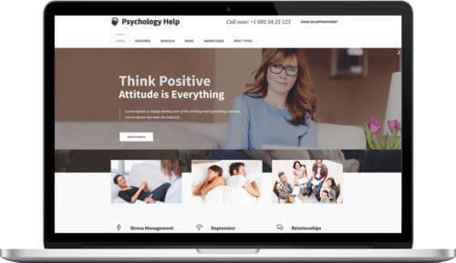 Realizzazione Sito Web per Psicologo