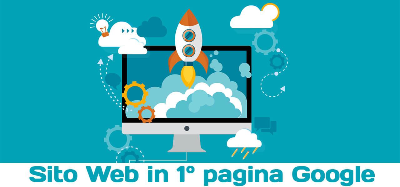 Sito Web in Prima Pagina su Google