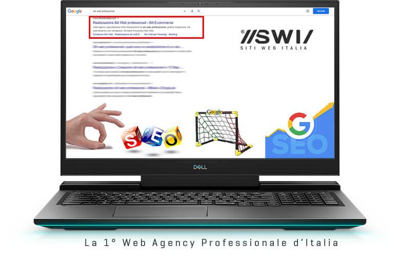 Il tuo sito web in Prima Pagina Google